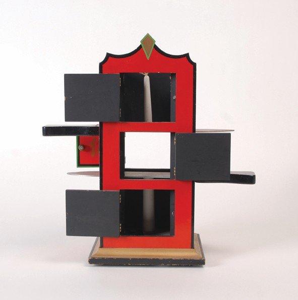 18: Chinese Flame Clock. Alhambra, Milson Worth