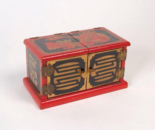 76: Oriental Die Box.  Owen Magic, ca. 1960