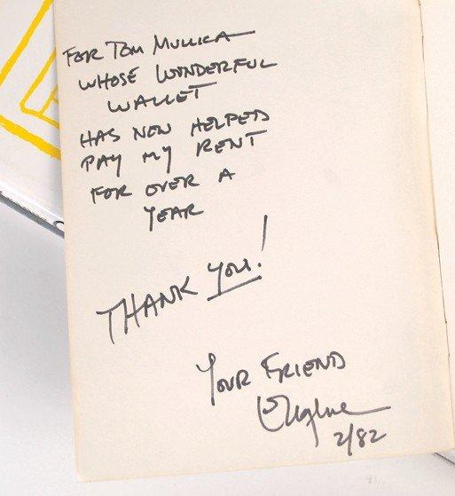 184:   11 Eugene Burger magic books, some signed - 2