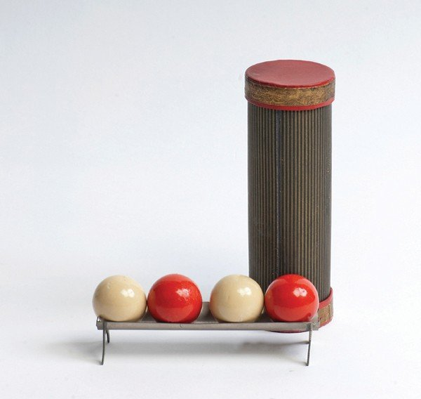 7: Magic Ball Tube. German, ca. 1920.