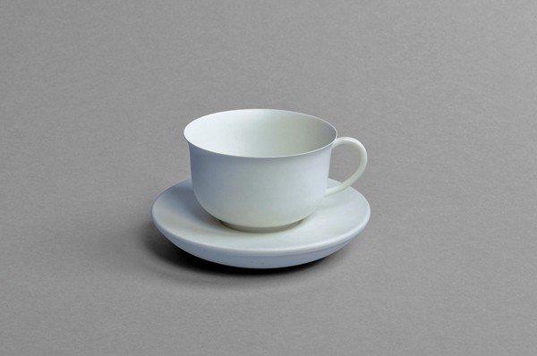 8: Bewitched Coffee Cup. Vienna, Zauber-Klingl, ca 1919