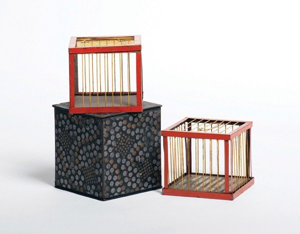 18: Cage Production. Maker unknown, ca. 1925.