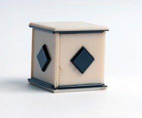 Handkerchief Production Box. Midlothian Scotland,