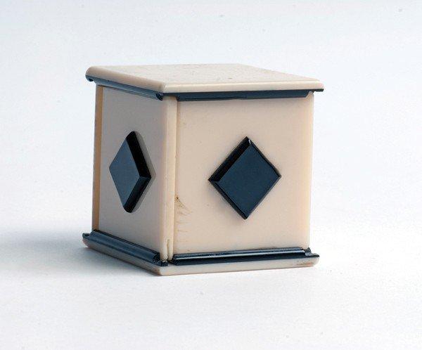 100: Handkerchief Production Box. Midlothian Scotland,