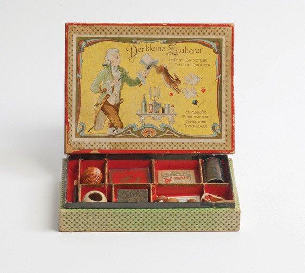 103: Der kleine Zauberer magic set. Germany, ca 1900