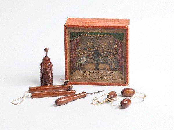 104: Neuer Taschenspieler Apparat magic set. ca. 1890