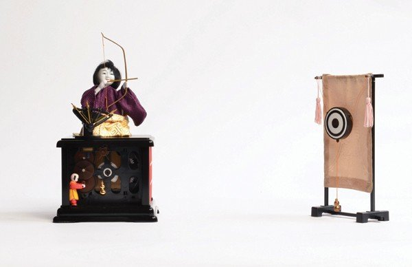 120: Archer Karakuri mechanical doll/automaton. Tokyo,