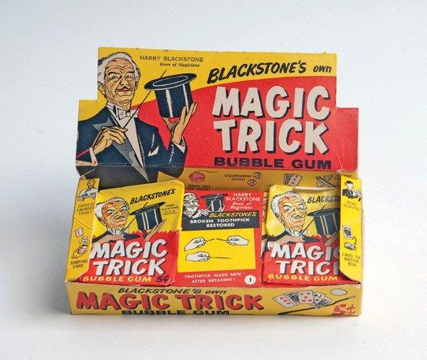 252: Blackstone's Own Magic Trick Bubble Gum - cplt.set