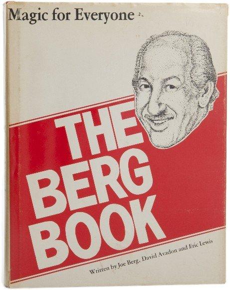 1: Berg, Joe and David Avadon. The Berg Book.