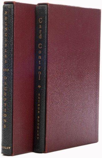 2: Buckley, A. Card Control & Principles and Deceptions
