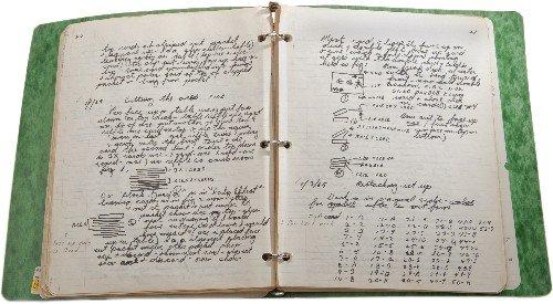 6: Bruce Cervon's First Castle Notebook. Manuscript.