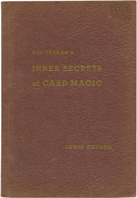 20: Vernon's Inner Secrets of Card Magic Insc. & signed