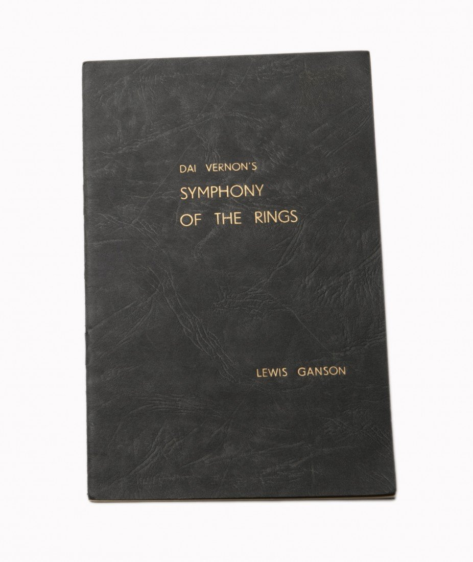 21: Dai Vernon's Symphony of the Rings. Insc. & signed