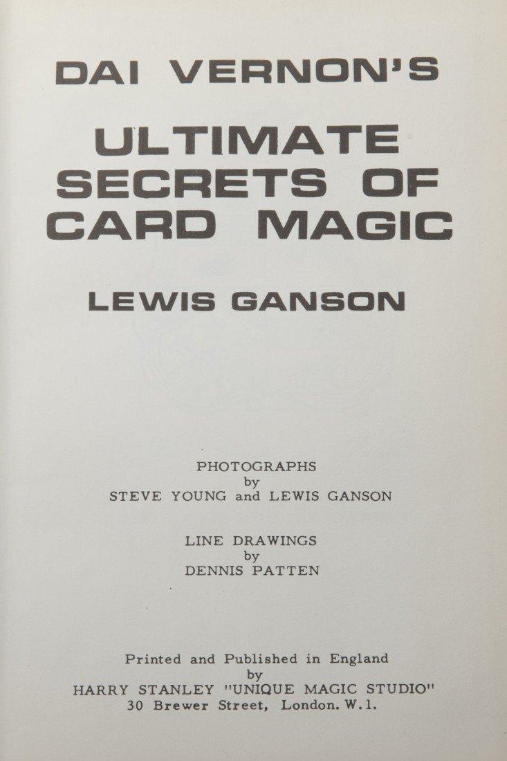 23: Vernon's Ultimate Secrets of Card Magic - Inscribed