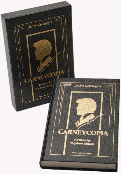 49: Minch, Stephen. Carneycopia. Tahoma, 1991. Leather