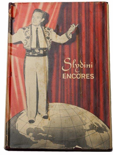 53: Nathanson, Leon. Slydini Encores. New York, 1966.