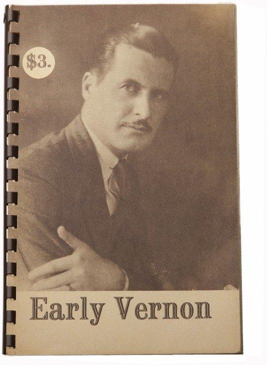 58: Ross, Faucett (ed). Early Vernon. Chicago, 1962.