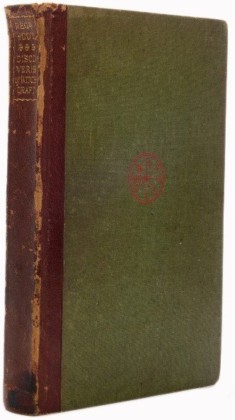 59: Scot, Reginald. The Discoverie of Witchcraft. 1930.