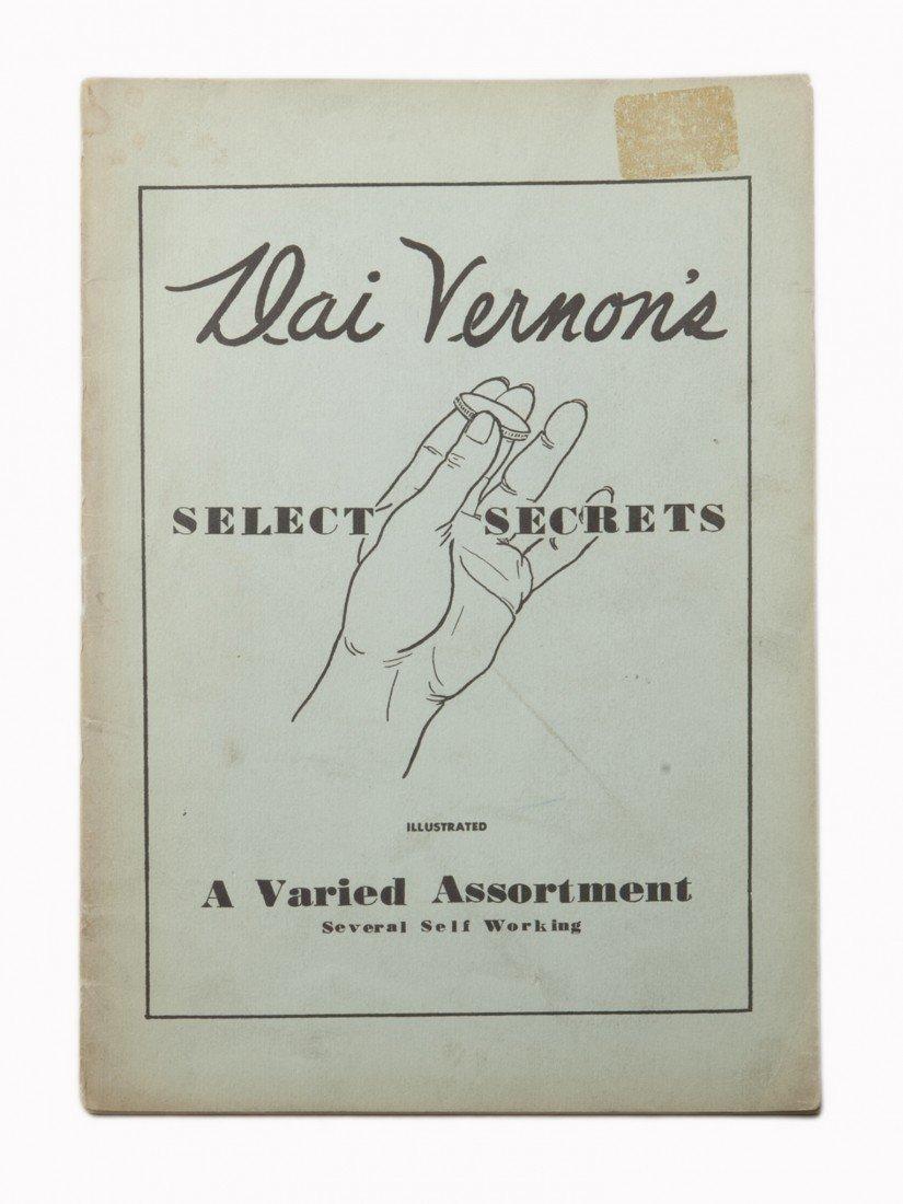 68: Vernon, Dai. Select Secrets. New York, 1941. First