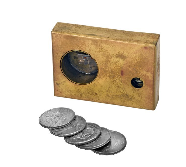 16: Coin Dropper. Lake Forest, John McKinven, ca. 1988.