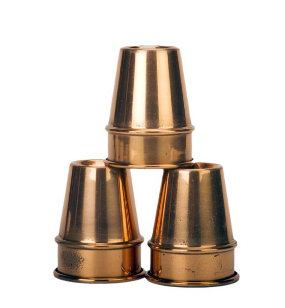 19: P&L Copper Cups. New Haven Connecticut.