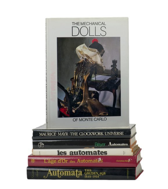 42: Group of six pictorial books about automata