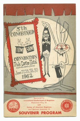 Lot Of Magician And Magic Convention Programs