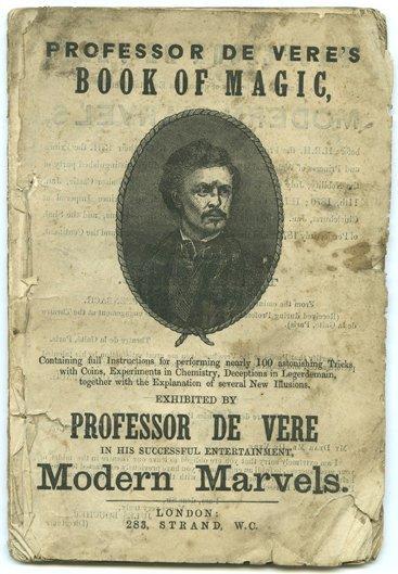 173:  Professor De Vere's Book of Magic, ca. 1875