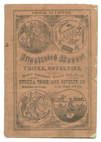 177: Eureka Trick & Novelty Co.'s Manual. NY 1877