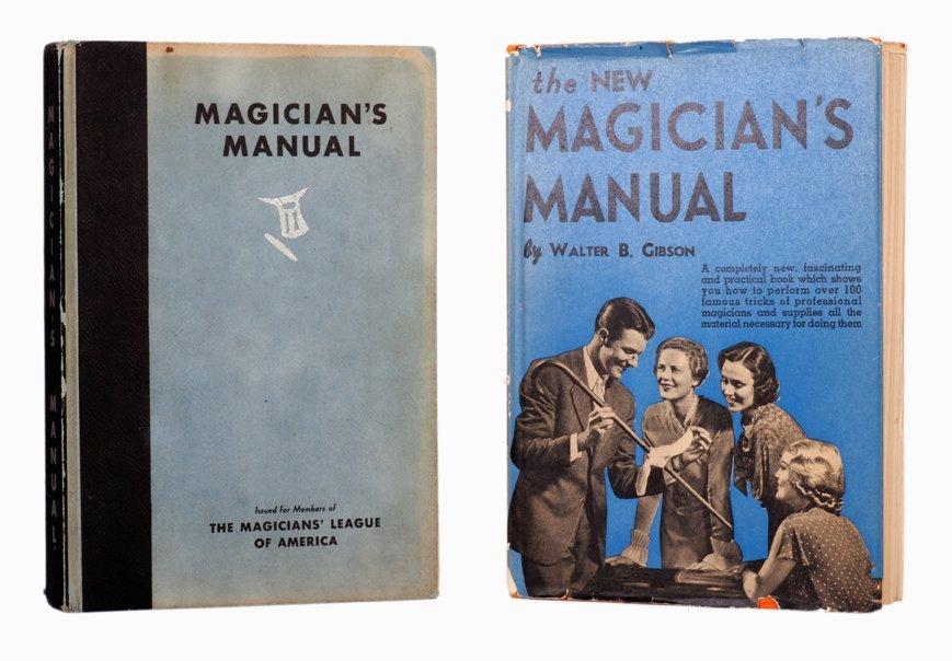 181: Walter Gibson. The Magician's Manual  & New Manual