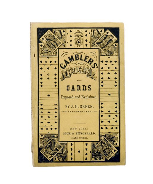 182: Green, J.H. Gamblers' Tricks with Cards. NY, 1850