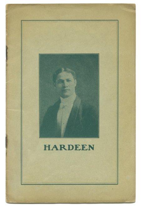 184: Hardeen (Theodore Weiss). Hardeen. NY ca. 1907