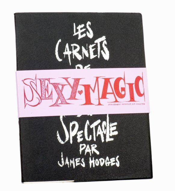 187: Hodges, James. Sexy Magic. Paris, 1973. Ltd. ed.