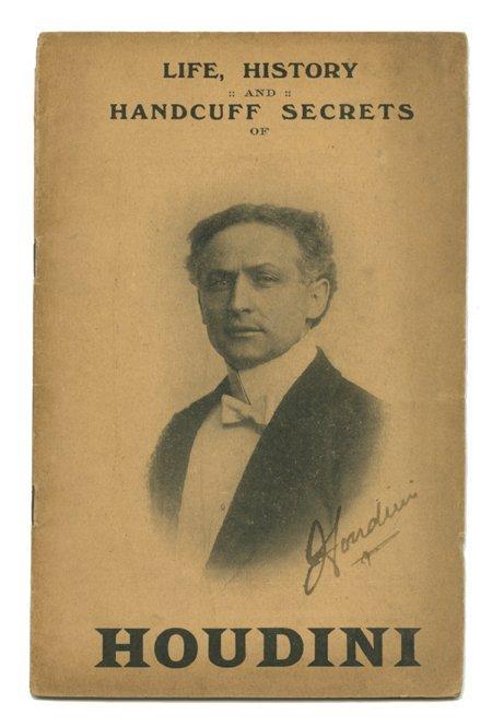188: Houdini: Life, History and Handcuff Secrets SIGNED