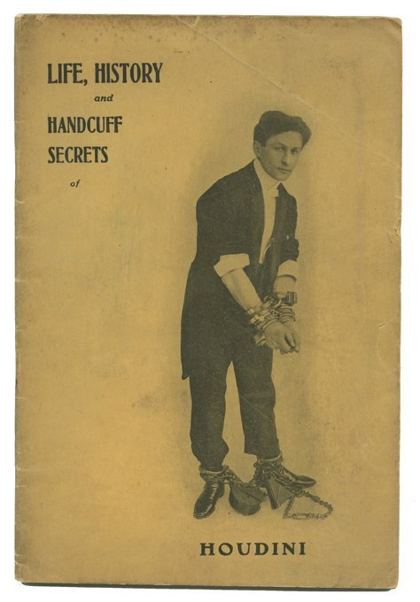 189: Houdini, Harry. Life, History and Handcuff Secrets