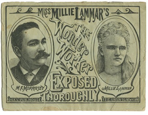 192: The Life of Miss Millie Lamar Mind Reader w/photo