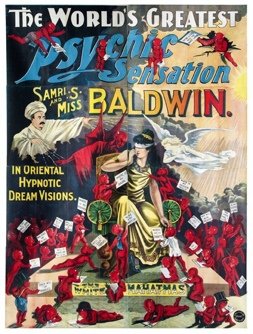 223: Baldwin the World's Greatest Psychic  large poster