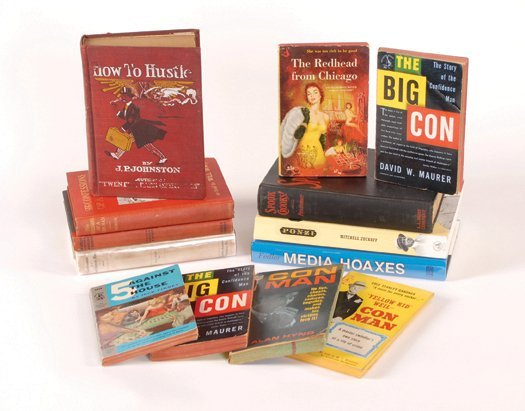 12: 13 books about cons, hoaxes, frauds, and gambling