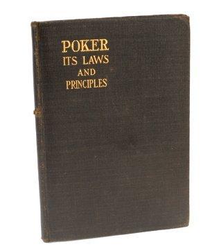 14: A. Crofton. Poker Its Laws and Principles. NY 1915