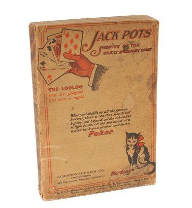 18: Eugene Edwards,  Jack Pots. Stories .. 1900