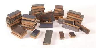 346 Thirtysix Gambling Catalog Copper Printing Blocks