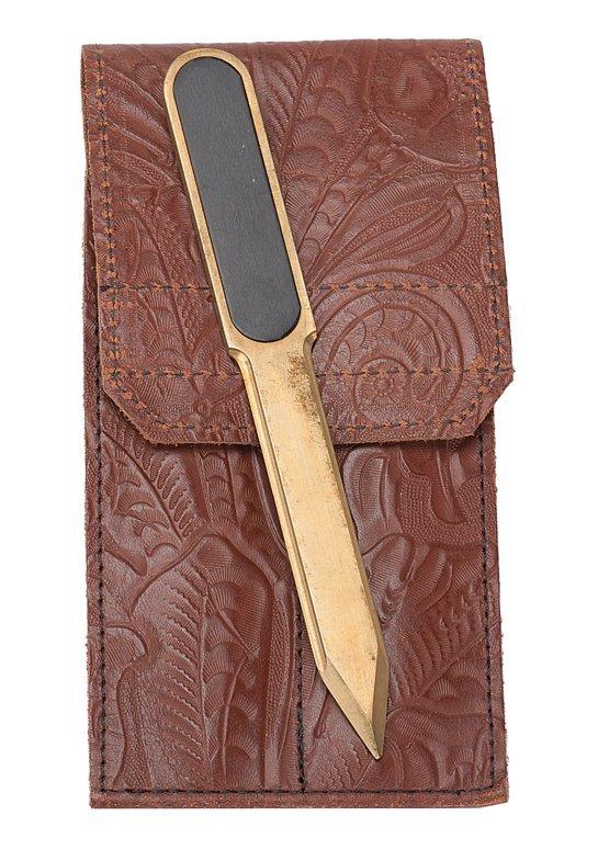 3: Billet Knife. California, Porper Originals, ca. 2002