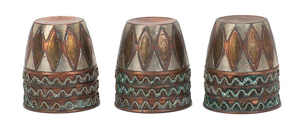 12: Copper Cups, combo set.