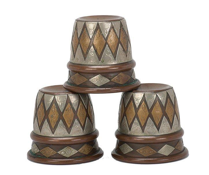 18: Miller Cups. Chicago, Magic, Inc., 1970s. Set of 3