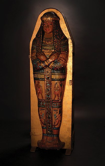 29: The Great Leon's Mummy Sarcophagus ca. 1915