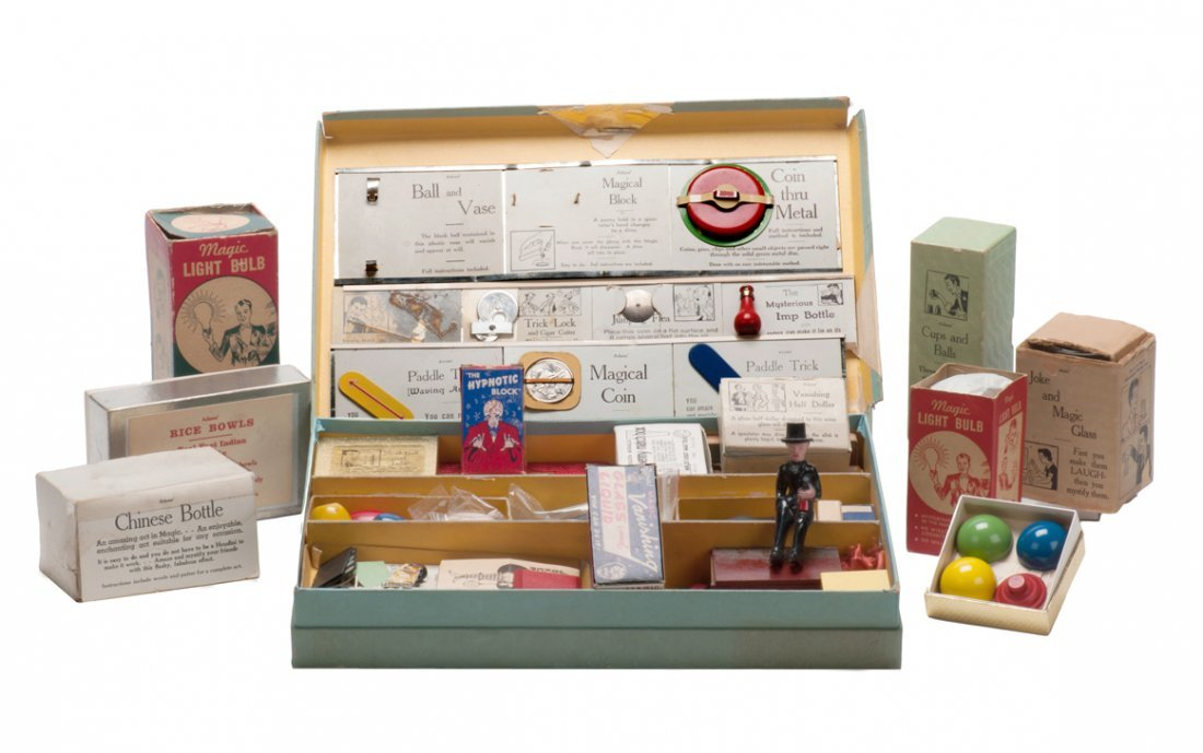 1: S.S. Adams Salesman's Sample/Demo kit