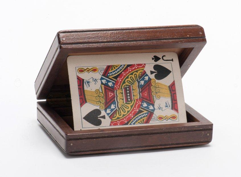 13: Thayer Lock Flap Card Box.
