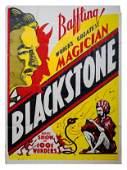 260: Blackstone. World's Greatest Magician poster.