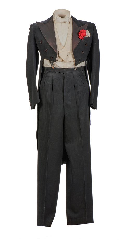 Cardini's stage-worn tuxedo/costume