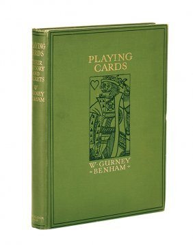 Gurney Benham. Playing Cards. The History of the pack
